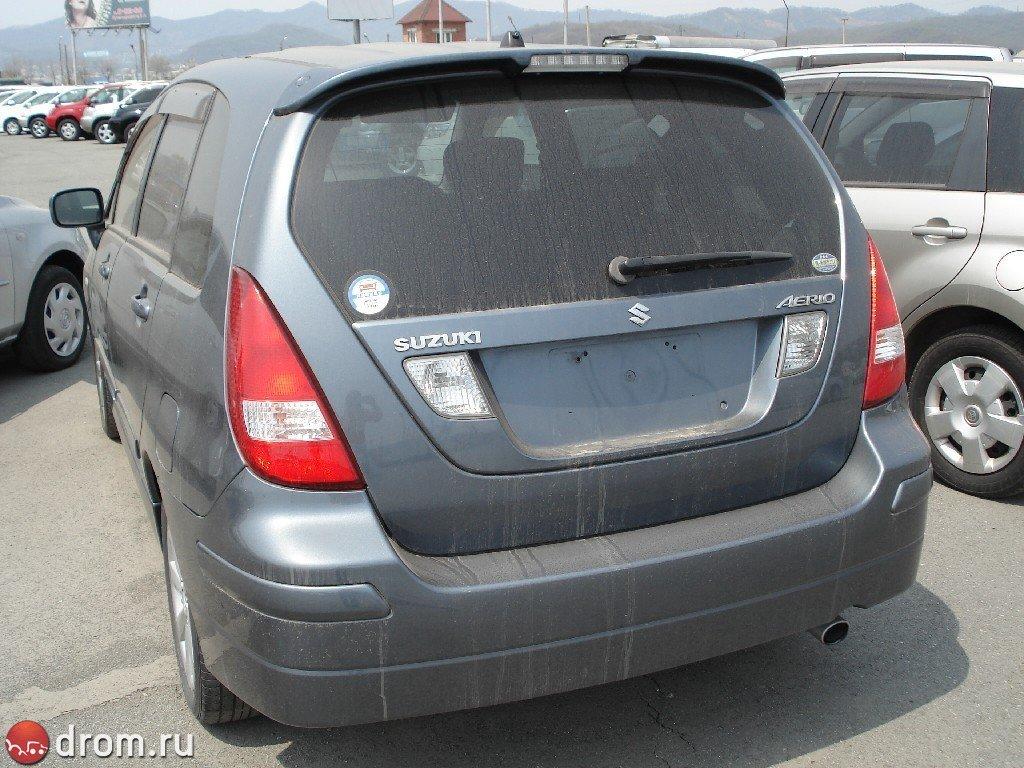 Suzuki Aerio Wagon (01.2001 - 05.2006) - технические ...