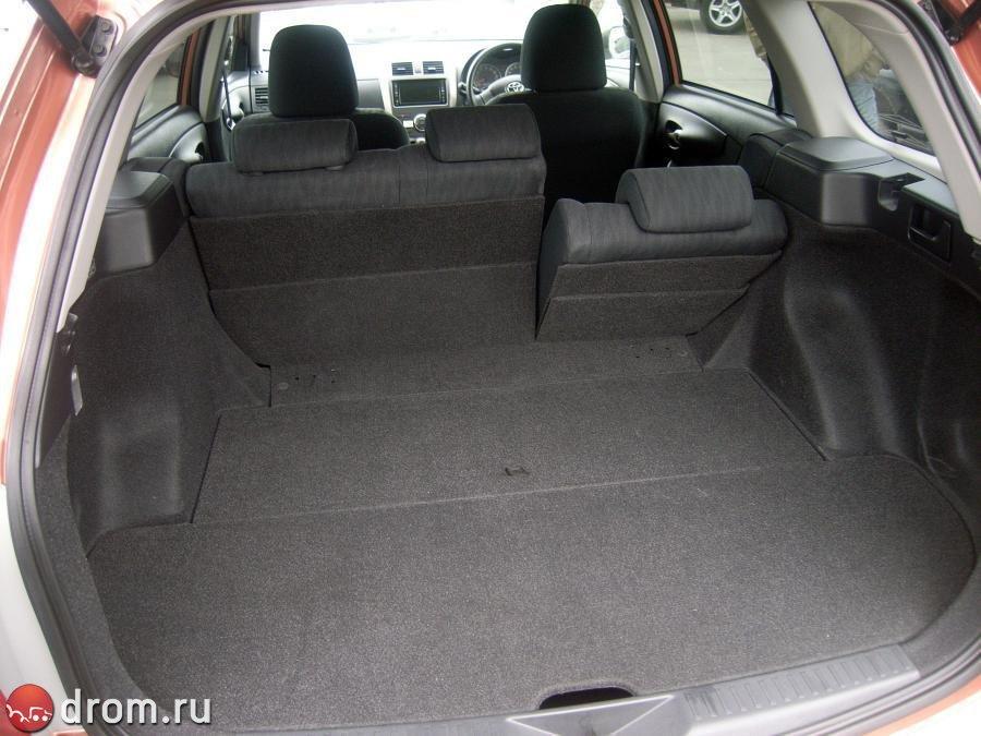 Тойота королла фото багажника