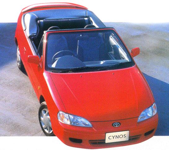 Автомобиль Toyota Cynos (Тойота Цинос) – это компактное купе, впервые поступившее в продажу в 1991 году. Модель представлена в двух поколениях.