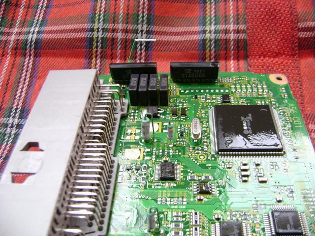 Фотоотчёт о замене микросхемы STA509A.