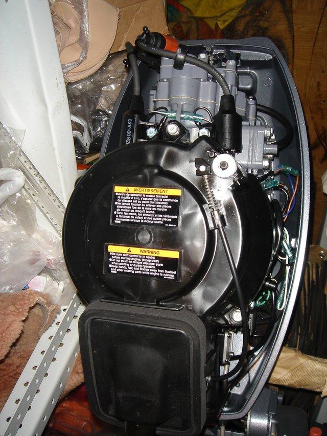 лодочные моторы ямаха 5 л.с как заводить