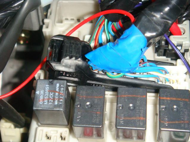 Подключение парктроника на Mitsubishi: штекеры и разъемы.