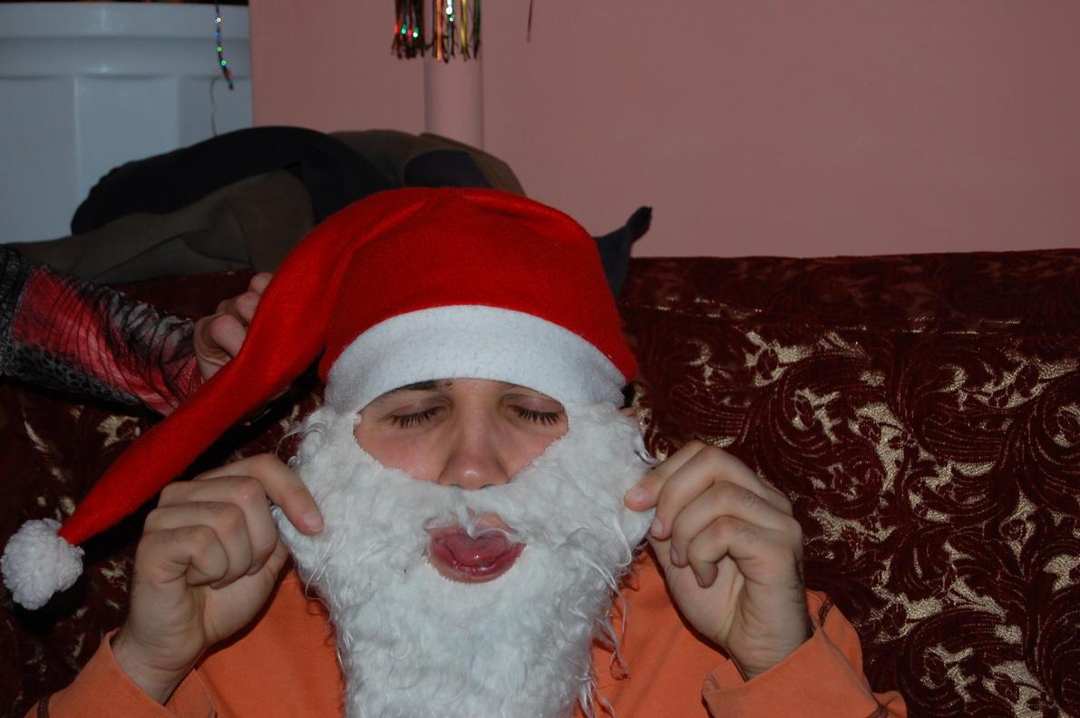 Борода из ваты своими руками фото
