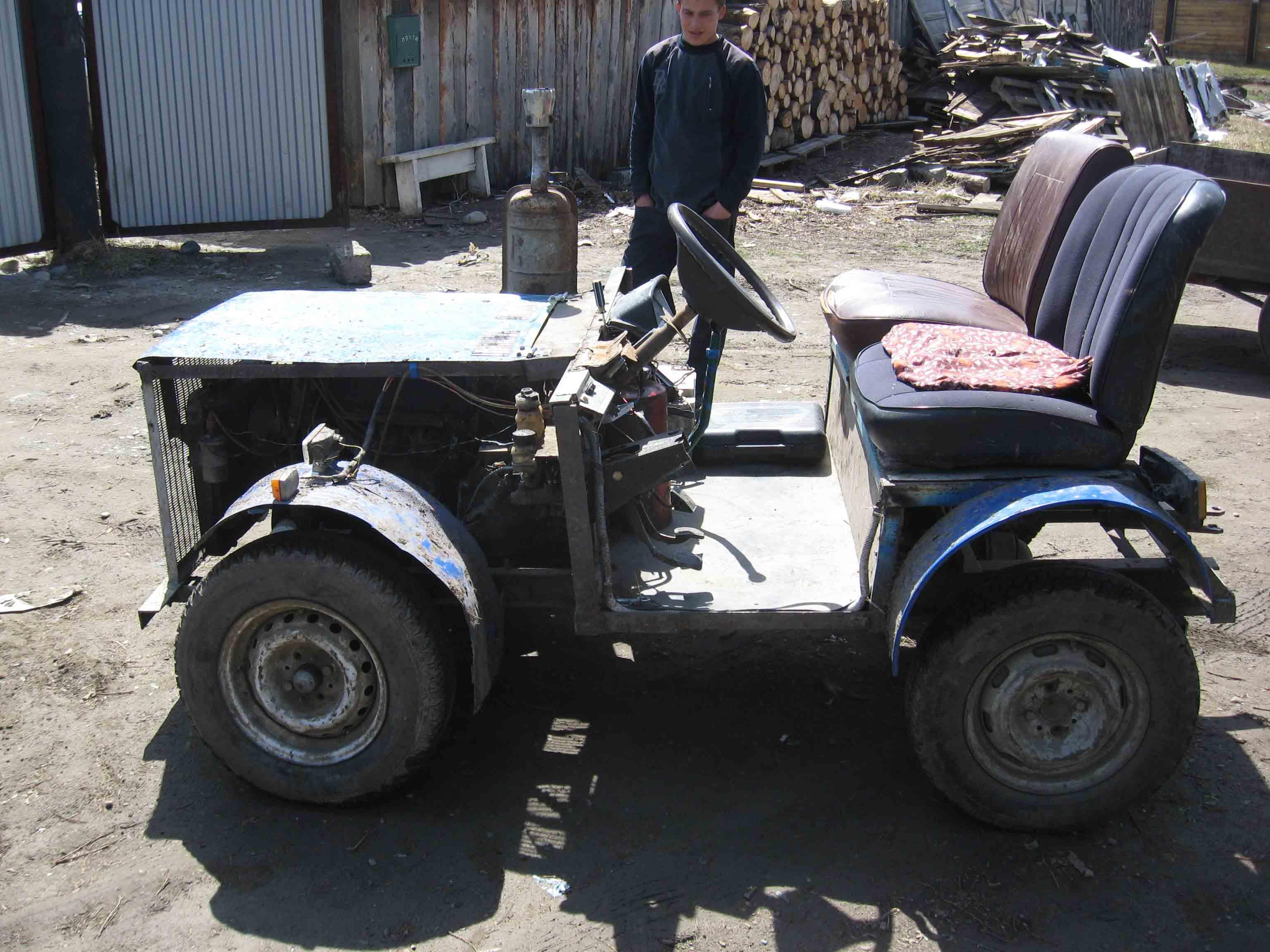 Як самому можна в домашніх умовах зробити мини трактор фото 11 фотография