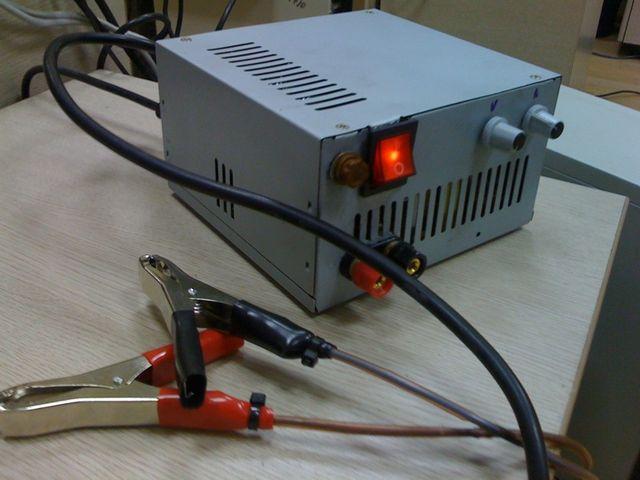 Переделка блока питания компьютера в зарядное устройство.