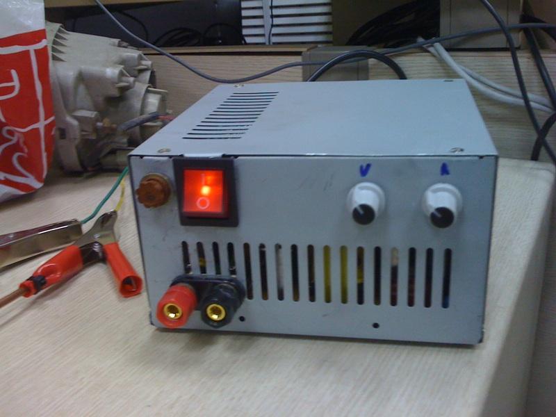 Зарядник для аккумулятора автомобиля из бп своими руками