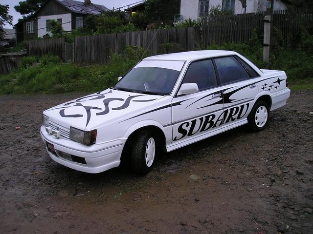 Фото Subaru Leone,Куда ведут…