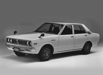 Nissan on Nissan Violet Pictures 1977