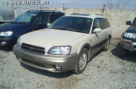Subaru Legacy Lancaster 2001