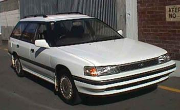 Subaru Legacy Wagon 1991