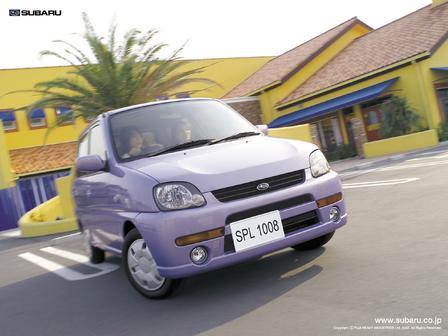 Subaru Pleo 2000