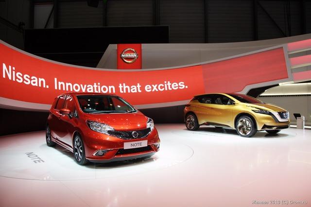 Nissan Note и Resonance