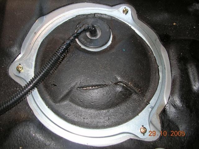 Крышка топливного фильтра