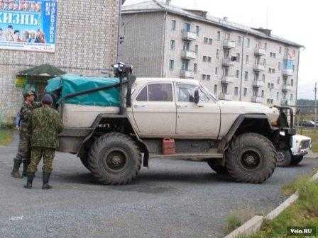 Волга+Газ 66=???
